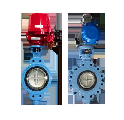 VAN BƯỚM - DK VALVE Double eccentric butterfly valve